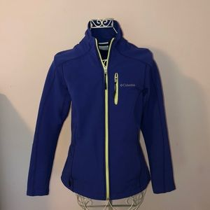 Columbia nearly NEW wind stopper jacket